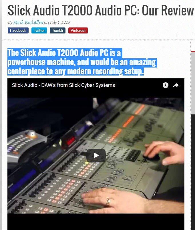 Slick Audio T2000 Audio PC
