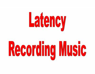 Slick Audio latency in recording audio