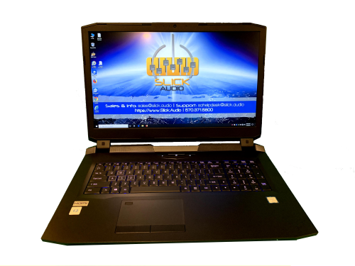 Slick Audio - L1760 Audio recording laptop