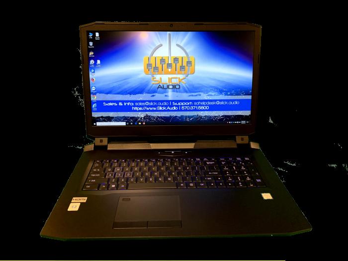 Slick Audio - L1760 Audio recording laptop
