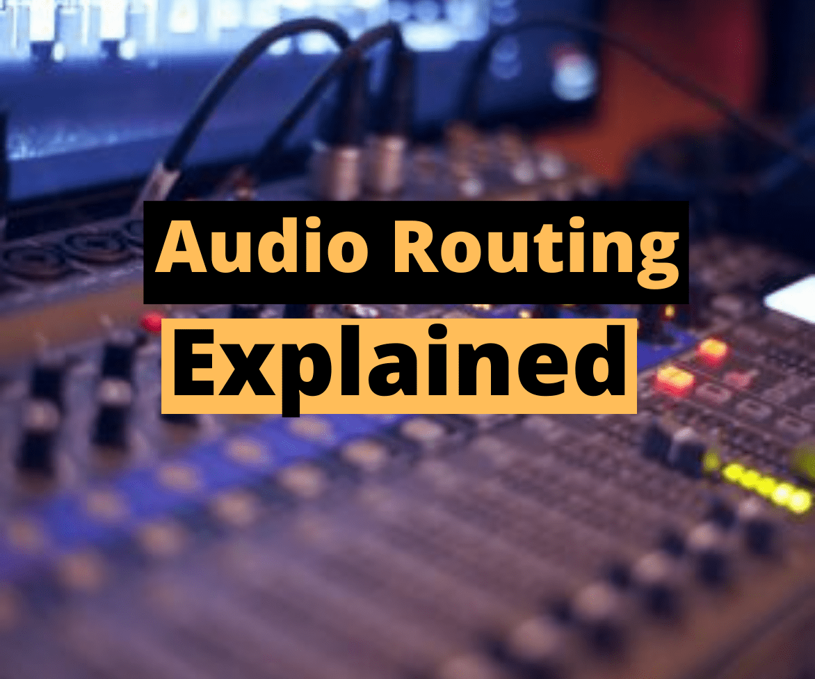 What is audio routing
