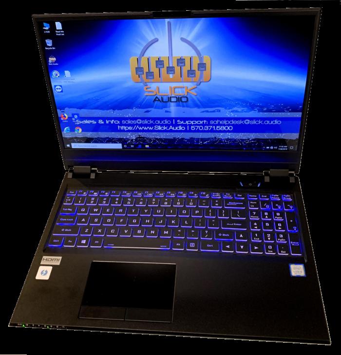 Slick Audio music laptop