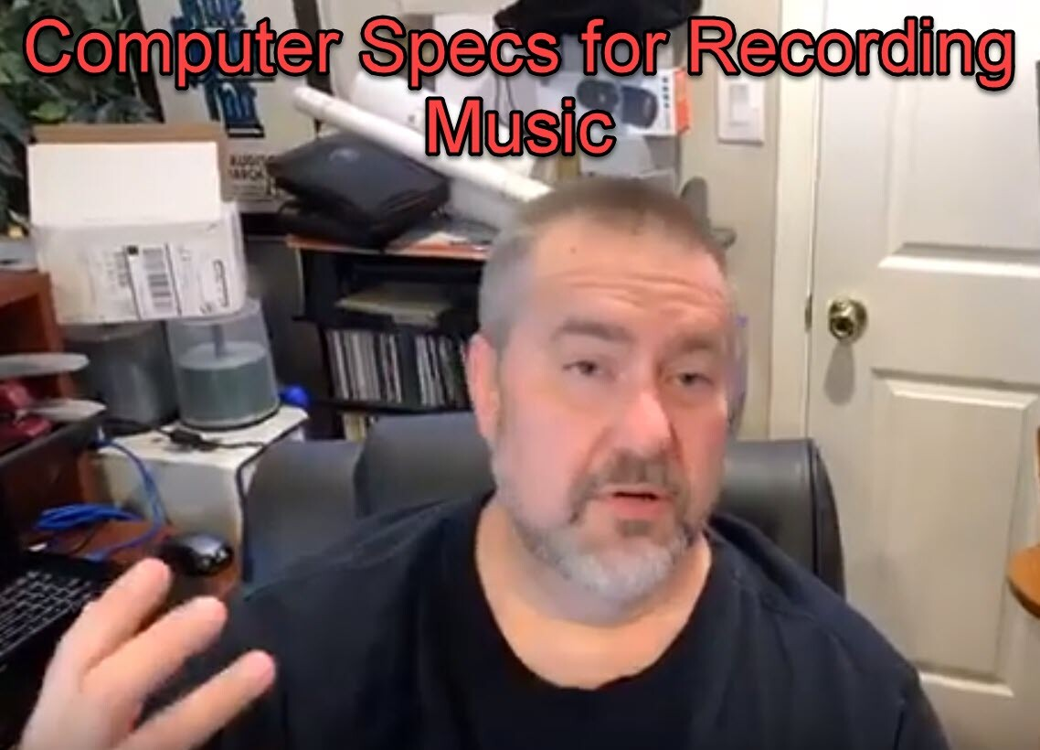 Computer Specs for Music Recording