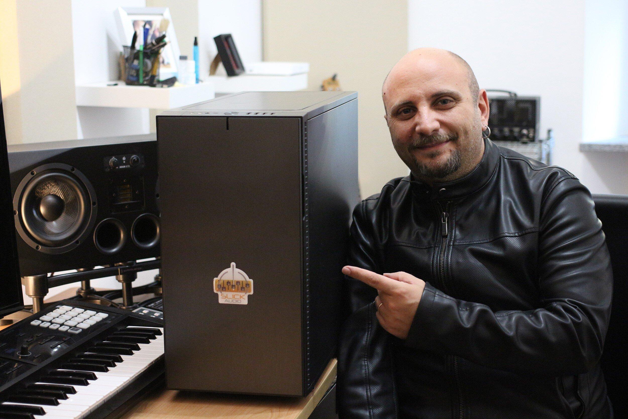 Marco Sfogli Slick Audio