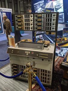 AES audio console