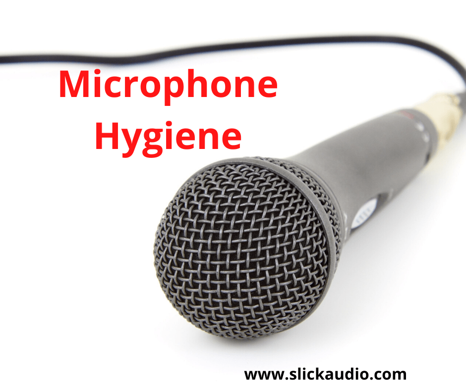 Cleaning your microphone