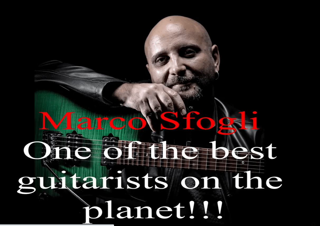 Marco Sfogli One fo the best guitar players ever