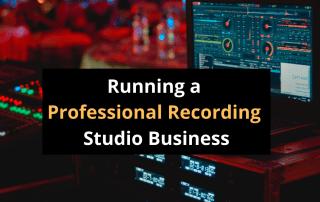 Recording studio business