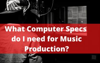 Computer Audio Recording Specs